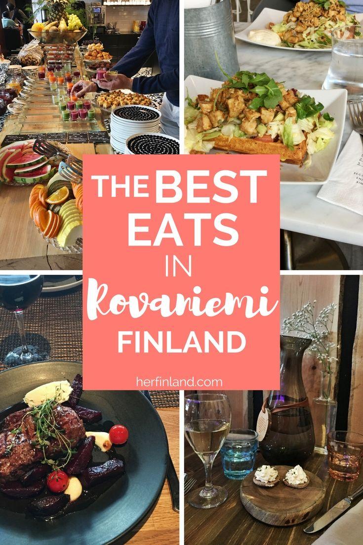 Best restaurants in Rovaniemi city. Pin it for your next travel!