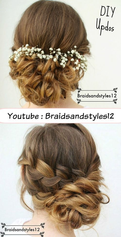Beautiful Curly Updo and Braided Updo by Braidsandstyles12. Formal Updo, Bridal updo, Upstyle, Updos