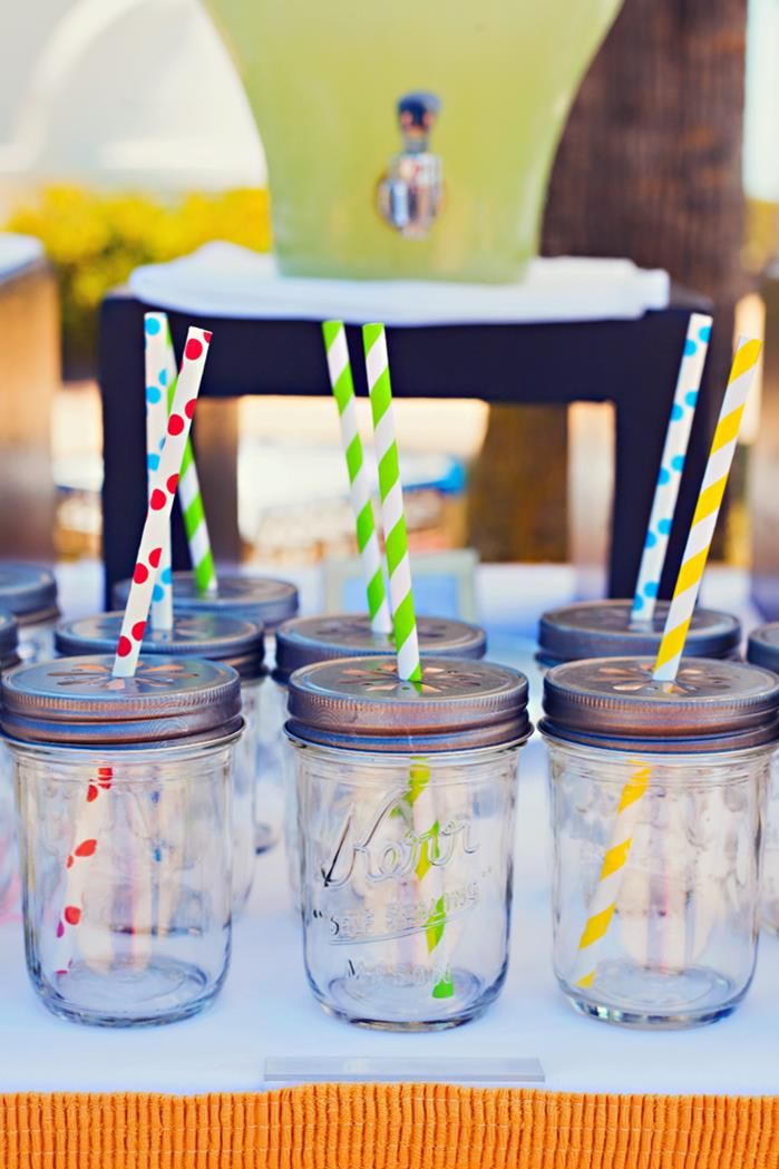 End of Summer Vintage Beach Party with Lots of Cute Ideas