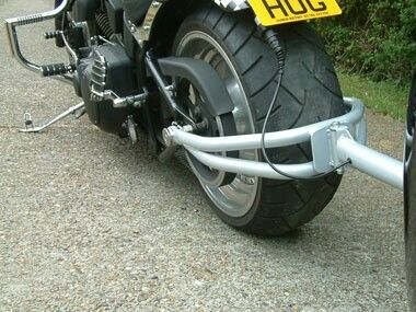 Pivoting Trailer Hitch For Motor Small Spaces Unique