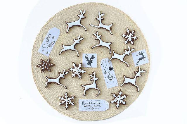 Christmas Cookies con carruba e sciroppo di riso