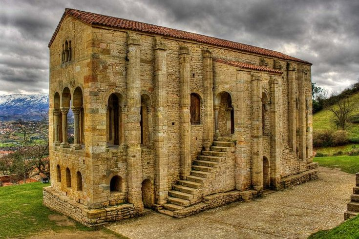 Santa Maria del Naranco, Oviedo, Spain