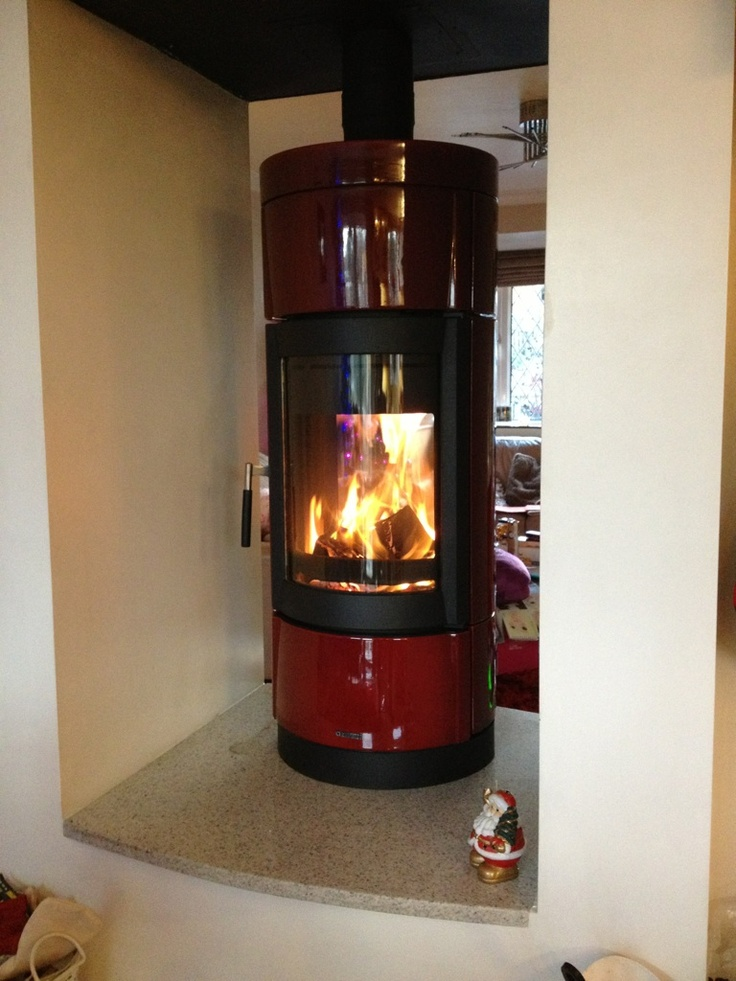 Wood Stove Double Sided Wood Stove