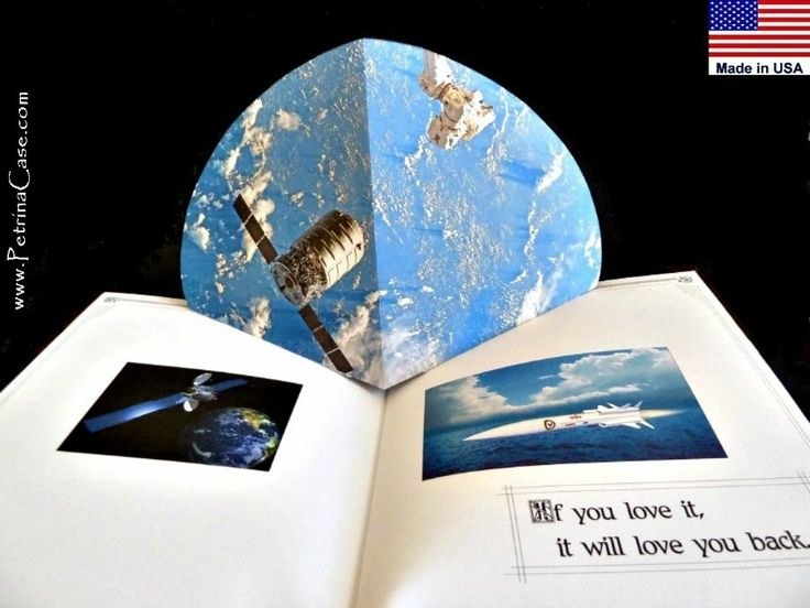 Pop up book outer space usa pop up paper 3d books my for What is outer space made of