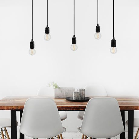 Uno S5 Pendant - Black - by Bulb Attack #MONOQI