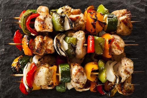 Traditional Italian Grilled Chicken and Vegetable Skewers (Spiedini di Pollo e Verdure) | Enjoy this authentic Italian recipe from our kitchen to yours. Buon Appetito!