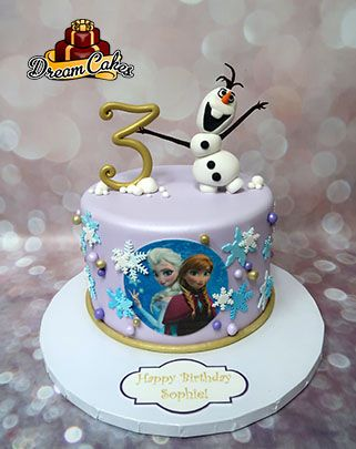 Frozen Cake by Dream Cakes Chicago