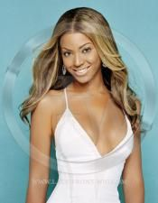 Beyonce Celebrity Inspired Natural Straight Lace Wig