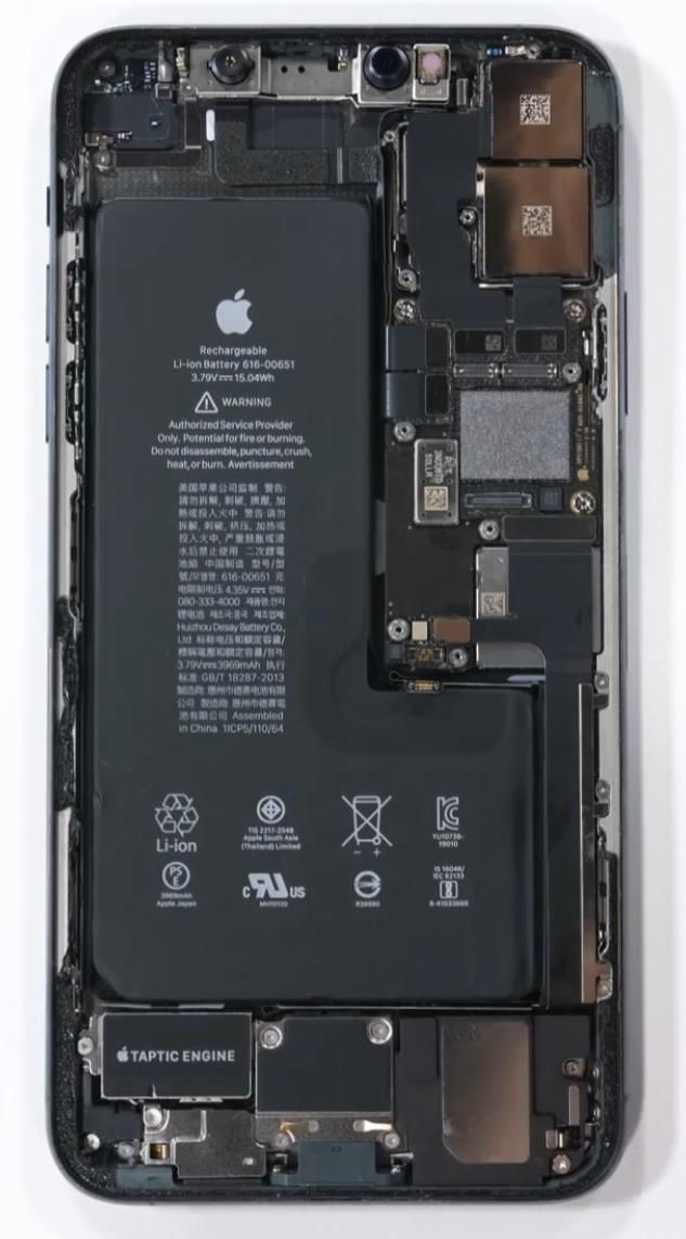 Iphone 11 Pro Internals Electronics Wallpaper Samsung Galaxy Wallpaper Android Abstract Iphone Wallpaper