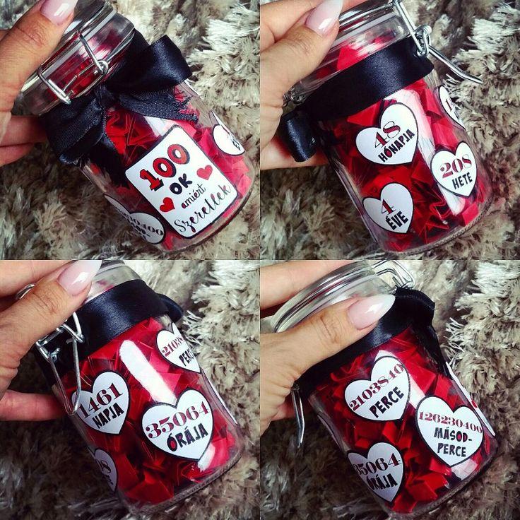 100 reason why I love you  by me / 100 Ok amiért Szeretlek #anniversary #gift #diy #love