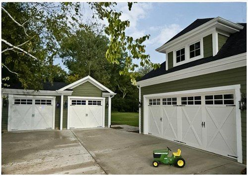 17 Best ideas about Carriage Style Garage Doors on Pinterest ...