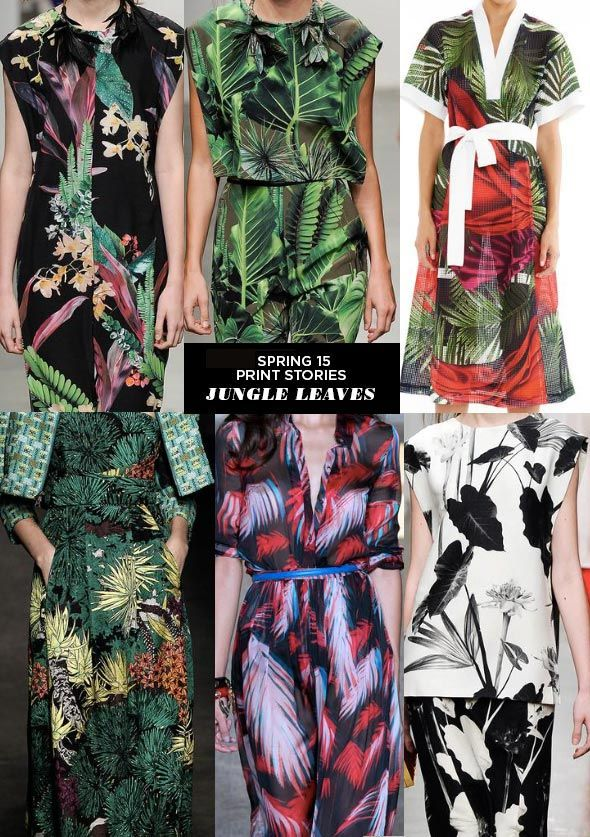Ethnic and Tropical prints are going to be very popular in the upcoming seasons for both men's and women's wear. - Jacob C.
