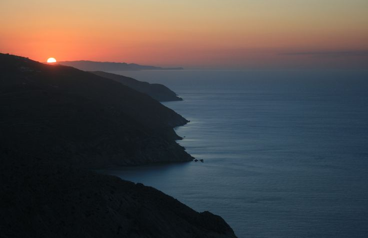 #Sunset #Folegandros island #Greece #Cyclades #memories