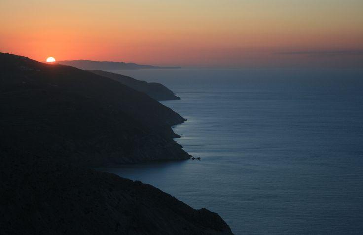 #Sunset #Folegandros island #Greece #Cyclades #memories