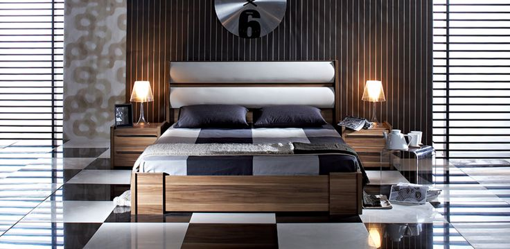 The latest trend of bedroom furniture with a sense of royalty.