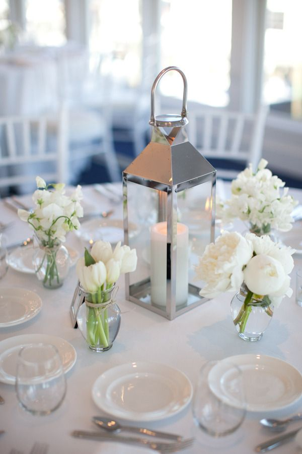 The best lantern table centerpieces ideas on pinterest