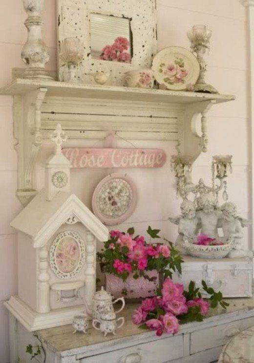 Best 25+ Shabby chic mantle ideas on Pinterest Shabby chic - küche shabby chic