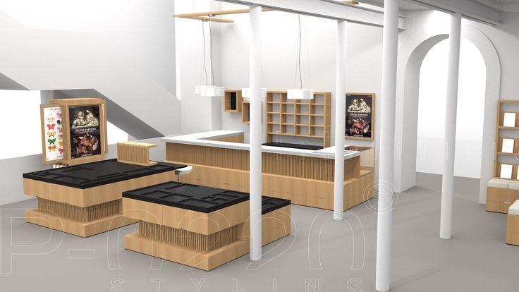 Aménagement Alimentarium / Alimentarium Planning designed by Pozzo di Borgo Styling.