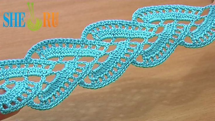 FREE VIDEO TUTORIAL ~ PART 1 OF 2  Stripy Lace