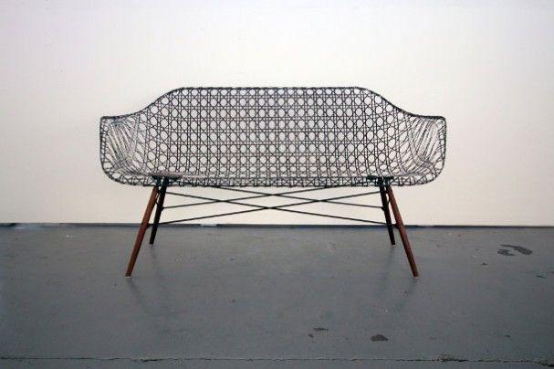 Eames sofa van Carbon Fiber « EYEspired