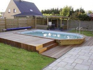 les 25 meilleures idées de la catégorie piscine hors sol enterrée ... - Quel Type De Piscine Choisir