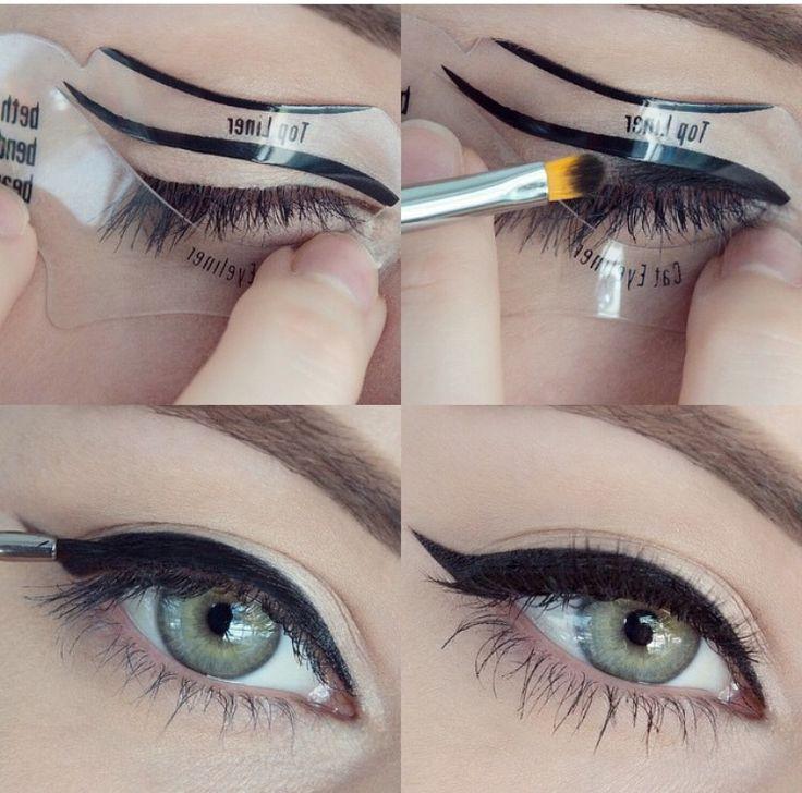 Beth Bender Beauty Winged Eye Liner Stencil