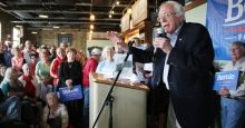 Bullish on Bernie: Populist Presidential Platform Draws Overflow Crowds   The crowds at Mr. Sanders's Iowa events appeared to be different from the state's famously finicky tire-kickers. Many said they had already made up their mind to support Mr. Sanders. They applauded his calls for higher taxes on the rich to pay for 13 million public works jobs, for decisive action on climate change and for free tuition at public colleges.