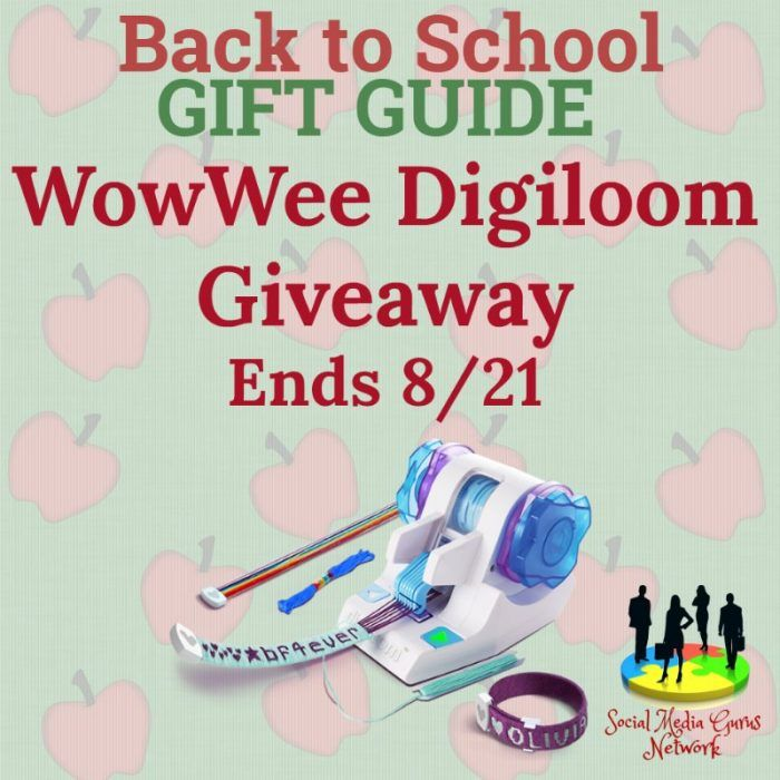 WowWee Digiloom Giveaway  One winner will receive 1 Digiloom shipped to their home. ~~~~~~~~ GIVEAWAY This giveaway is in no way endorsed, affiliated, or associated with Facebook, Twitter or any other Social Media Networking Site. You are not eligible if you have won a prize from the sponsor in the last 12 month. This Giveaway is valid in the United States Only and Entrants must be 18+ years of age to enter. This giveaway event will end at 11:59 PM (EST) 8/21/17.