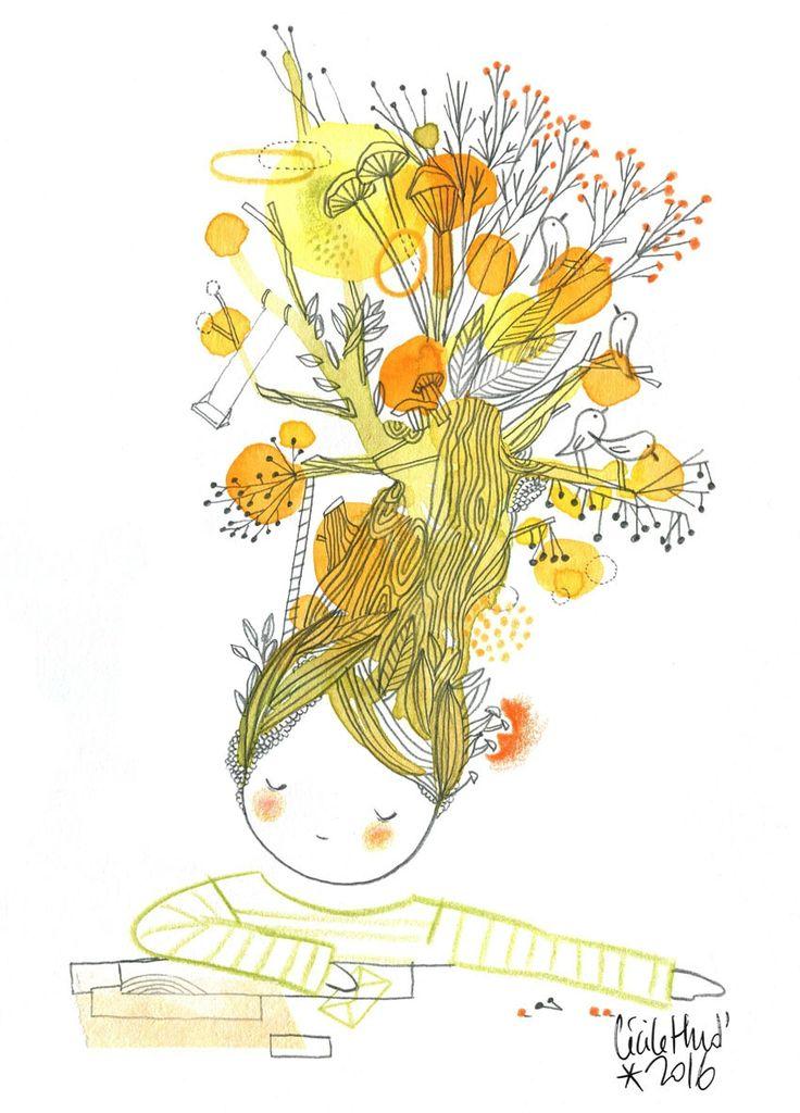 doll automn dream, Cécile Hudrisier
