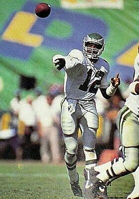 Philadelphia Eagles QB Randall Cunningham