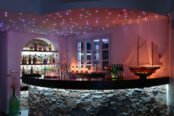 The Bar in Vrahos Boutique Hotel - #Folegandros.