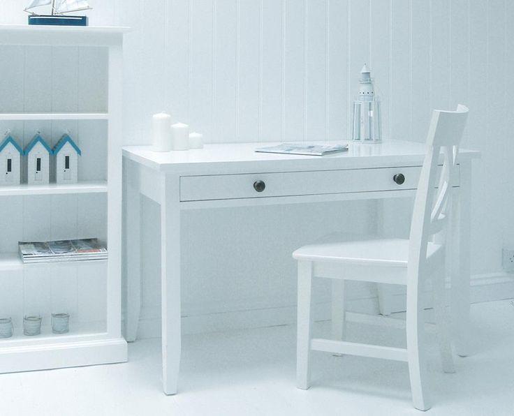 best New England White HomeOffice Furniture.  on Pinterest