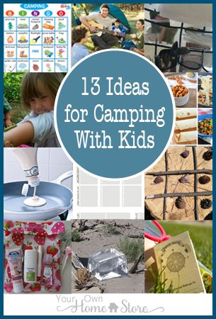 13 Tips and Tricks for Camping with Kids
