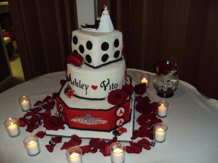 Gambling Cake Images