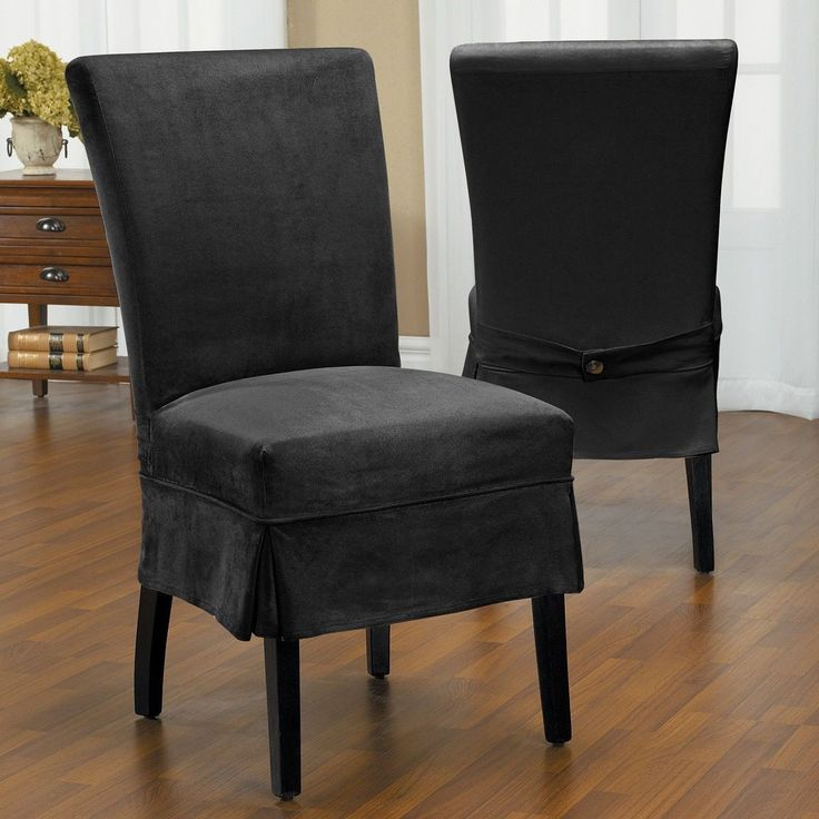 Slipcover For Dining Room Chair: 17 Best Ideas About Dining Chair Slipcovers On Pinterest