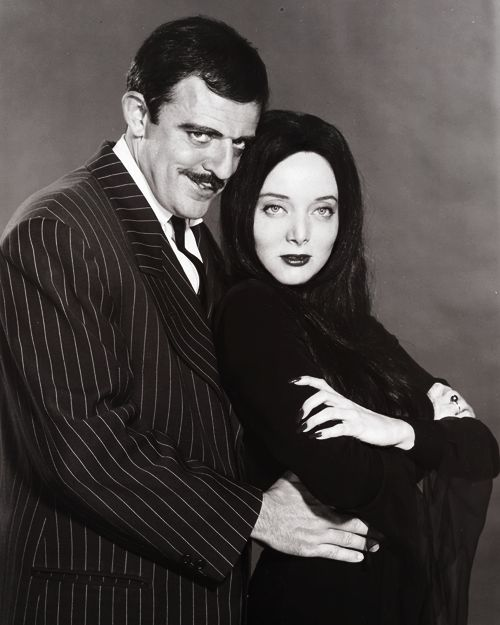 .the Addamses, the happiest, best-adjusted couple on 60s TV, seconded by the Munsters
