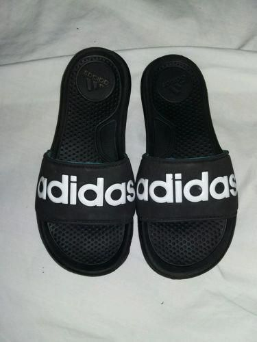 the best attitude 84aa5 862c0 Adidas boys slides sandals summer flip flops. Size 1 - shoes.goshoppins.
