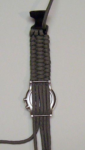 Uhrarmband selber flechten