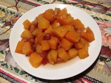 Тыква с яблоками в горшочках - как приготовить быстро, просто и вкусно в домашних условиях. Пошаговый рецепт с фотографиями, подробным описанием и ингредиентами.