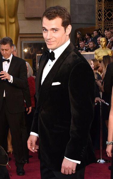 Henry Cavill's Busy Oscars Night