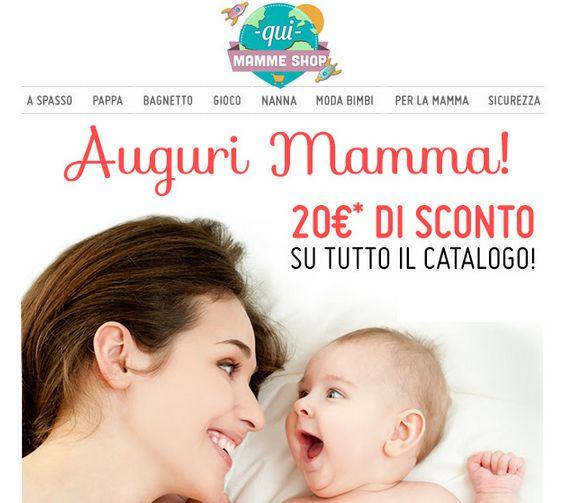 Codice sconto per comperare cose per bambini su Quimammeshop: 20 euro su 50 di spesa! | Mammarisparmio, risparmiare il mio mestiere #Quimamme