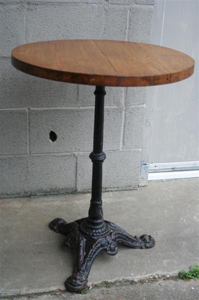 Iron Bistro Table. $250.00, via Etsy.