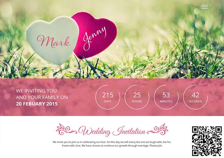 B Wedding Invitations Coupons: 9 Best Wedding Invitation With Qr Code Images On Pinterest
