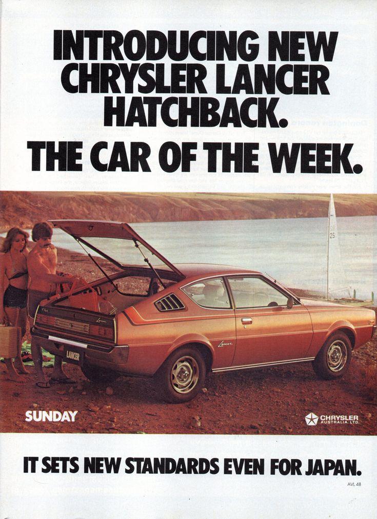 https://flic.kr/p/Kxpz28 | 1977 LB Chrysler Mitsubishi Lancer Hachback Page 2 Aussie Original Magazine Advertisement
