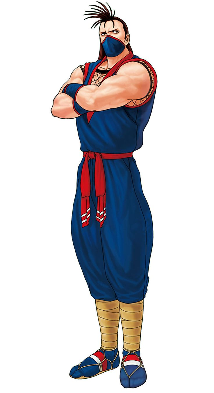 Eiji Kisaragi from The King of Fighters '98: Ultimate Match