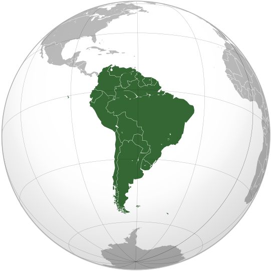 El sur de America