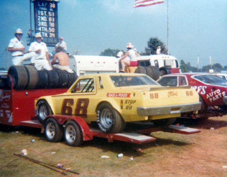 Vintage USAC race car