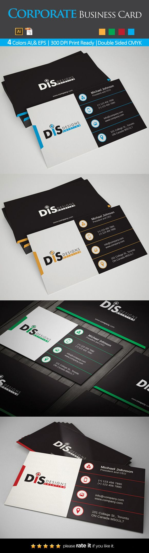 305 best Business Card Templates images on Pinterest | Business card ...