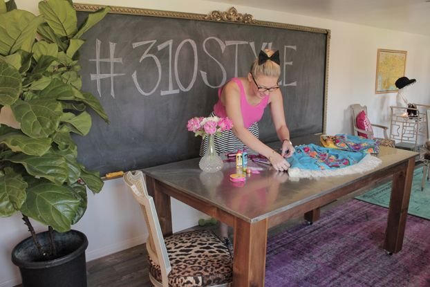 DIY Craft Room with 310 Style   Before   A Fab Life