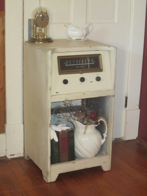 Repurposed Antique Radio Cabinet ~~Knick of Time